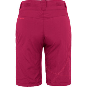 VAUDE Tamaro Shorts Damen crimson red